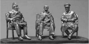 TIN HISTORY TIN FIGURES XX CENTURY YALTA CONFERENCE OF ALLIED POWERS 54MM M6