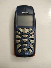 Nokia 3510i - Telefono cellulare vintage blu arancione non funzionante