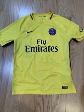 Nike PSG 17/18 (A) S/S Men's Jersey 847268-720 Neymar Sz L MINT No.10