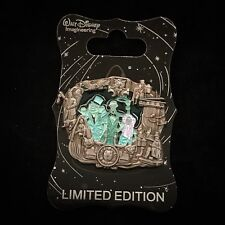 WDI D23 LE 300 Haunted Mansion Hitchhiking Ghost Gus Stained Glass Disney Pin