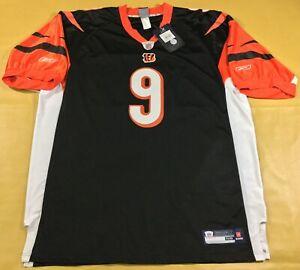 Cincinnati Bengals Carson Palmer #9 Football-NFL Reebok Jersey Size58
