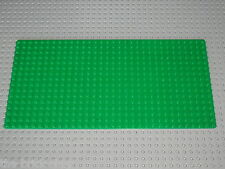 LEGO Green baseplate Plaque de base 16 x 32 ref 3857 / set 9364 10185 10182 6597