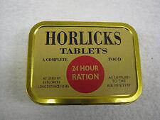 Reproduction WW2 Horlicks Ration Tin