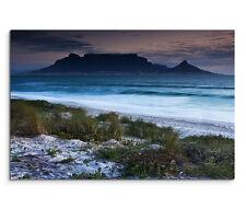 120x80cm Leinwandbild auf Keilrahmen Afrika Kapstadt Tafelberg Milnerton Strand