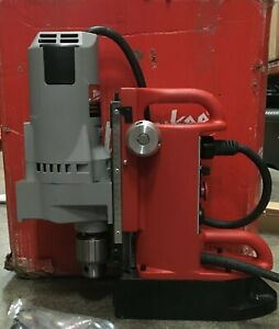 Milwaukee Drill Press Electro-Magnetic Adjustable Position, Morse Motor 4210-1