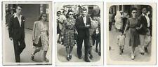 photo de rue - walking street photo - Les lunettes noires Triptyque Paris 1945