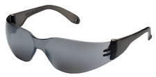 12 PACK PAIR Protective Safety Glasses Silver Mirror Lens Eyewear Sunglasses