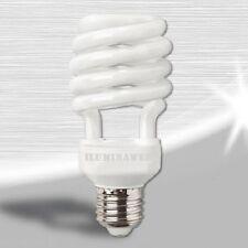 Bombilla CFL E27 Espiral Bajo consumo ECO 25W=125w Luz Blanca 6400k Crecimiento