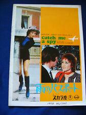 417.1972 CATCH ME A SPY Kirk Douglas Marlene Jobert Trevor Howard
