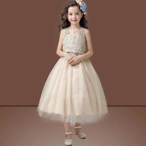 Party Dress, Princess, Flower Girl, Bridesmaid, Wedding, Pageant, Tulle