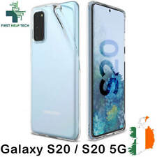 Samsung Galaxy S20 Case Cover Crystal Clear Gel TPU Soft Silicone Thin Case New