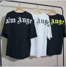 Men Palm Angels Oversize Bat Sleeve Hip hop T-shirt Women Fashion Top Shirts