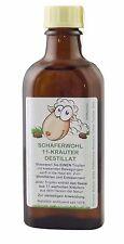 SCHÄFERWOHL 11-Kräuter-Destillat 100ml Flasche, ätherisches Wellness-Kräuteröl