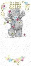 ME TO YOU TO A SPECIAL SISTER BIRTHDAY CARD TATTY TEDDY BEAR NEW