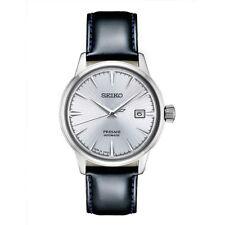 Seiko Men's COCKTAIL Presage Leather Auto Watch 23 Jewel Exhibition SRPB43