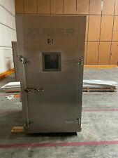 Zuber Smoker Used Electric Smoker Oven Single Rack Cart Commercial