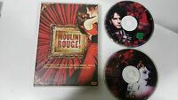 MOULIN ROUGE EDICION ESPECIAL 2 DVD ESPAÑOLA NICOLE KIDMAN EWAN McGREGOR
