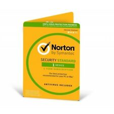 Symantec Norton Security Standard 3.0 in 1 User 1 Device 12mo Card DVDSLV Ret