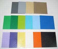 Lego ® Plaque de Base 16x16 Tenons Plate Platten Choose Color ref 91405 NEW