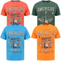 South Shore Mens Vintage Retro American Guitar Rock Band T-Shirt Cotton Top Tee