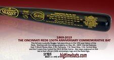 CINCINNATI REDS ( REDSTOCKINGS) 150TH ANNIVERSARY LOUISVILLE SLUGGER BAT