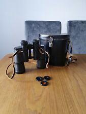 Vintage Russian USSR BNU  БПБ1 7x50 Military Binoculars with case