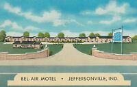 (LAM) P - Jeffersonville, IN - Bel-Air Motel - Exterior from Street