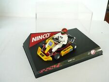 1:32 SLOT CAR NINCO KART F-4 KARTING NM BOX RARE