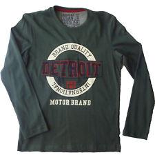 Camiseta manga larga  niño de Losan , verde , talla 8