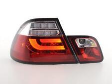 Coppia Fari Fanali Posteriori Tuning LED BMW serie 3 E46 Coupe 03-07 ROSSO