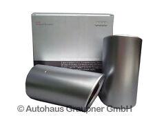 Audi A1 8X A3 8P Sport Endrohrblenden Aluminium matt 8P0071761A