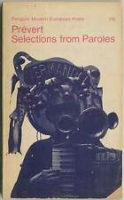 Jacques PREVERT / Selections from Paroles 1965