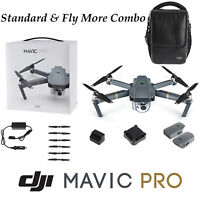 DJI Mavic Pro Standard & Fly More Combo Bundle FPV 3 Axis Gimbal 4K Camera Drone