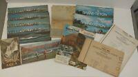 Huge Lot Vintage National Parks Maps Grand Teton Yellowstone Shoshone Alaska