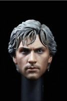 The Avengers Aaron Taylor-Johnson1/6 Quicksilver Head Sculpt  Head Carved Model