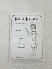 Undergarment Chemise Drawer Combination Petticoat Pattern 21�-22� Antique Doll