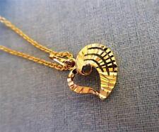 14k Gold Filled Heart shape  Pendant Women's Necklace -L 45cm