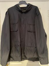 Navy French Connection Military Style Jacket Size 4xl