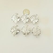 Hayabusa Large Chrome Ball Cut 6 PC 3D Fairing Bolt Kit Set  (071411-003SK)