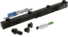 AEM Performance Fuel Rail (Black) 2000-2005 Honda S2000 AP1 AP2 F20C F22C
