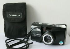 Olympus MJU Zoom 115 35mm Point & Shoot Film Camera.Tested.Free Warranty