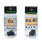 Barium Metal Element 56 Ba sample 1 gram 99,6 in labeled glass vial