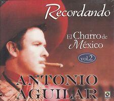 Antonio Aguilar Recordando El Charro De Mexico V2 Caja De Carton CD New Sealed