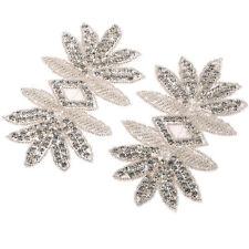 DM13 Sublime à repasser Cousue Cristal Strass perlé Motif Mariage