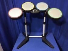 Xbox 360 Rock Band Harmonix WIRED Drum Set GUITAR HERO 822149 controller