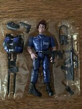 cyber kidz POLICE action figure w/accessories & weapons guns