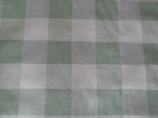"OSBOURNE & LITTLE ""CATAMARAN"" 5.5 metres designer woven check fabric APPLE GREEN"