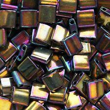 Metallic Purple Gold Iris Miyuki Tila Bead TL-188