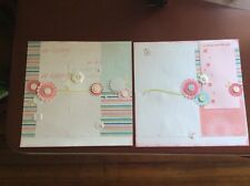 """...let me count the ways (CTMH) Embellished 2-page 12"""" X 12"""" Scrapbook Layout"""