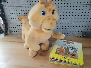 Talking Grubby Teddy Ruxpin Plush Toy Vintage 1985    missing cord so not tested